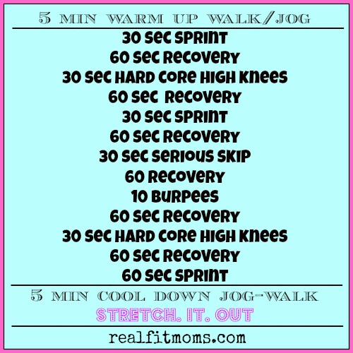 20 min HIIT workout
