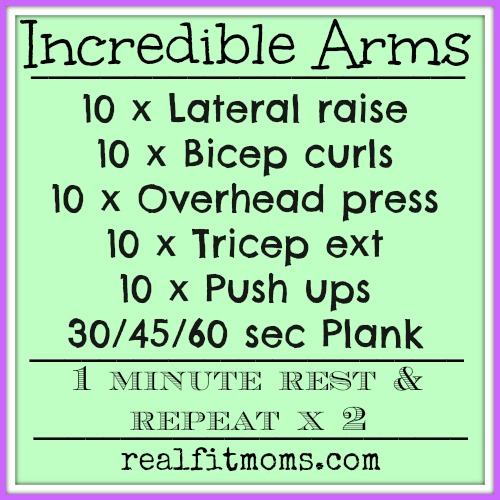 Incredible Arms Workout.